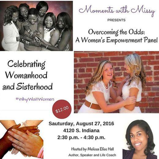 womens' empowerment panel